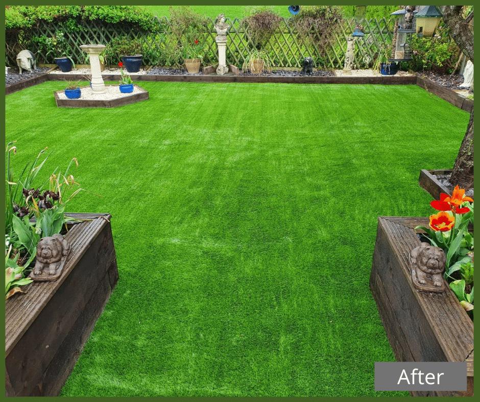 Market Harborough_after Market Harborough_before artificial grass